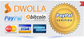 Logos for payment methods accepted for PstViewer Pro