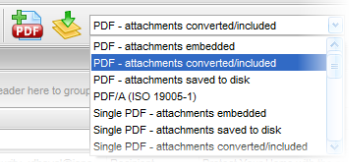 Convert email into .pdf files.