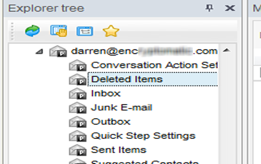 Search across multiple .msg emails or .pst files.