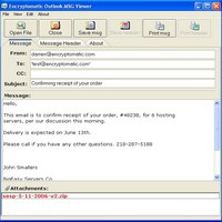 Click here for more info about Outlook MSG File Viewer and Attachment E