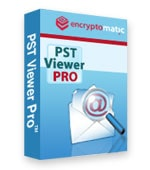 PstViewer Pro software box.