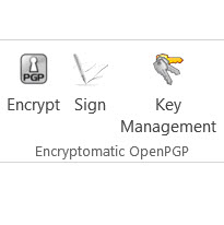 Encryptomatic OpenPGP for MS Outlook